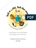 Tell a Child, Tell the World BUC Evangelism Manual