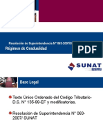 Codigo Tributario Gradualidad