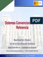 Sistemas Convencionales de Referencia