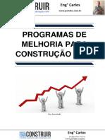 Programas de Melhoria para Construção Civil