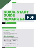 Numark N4 Quickstart Guide