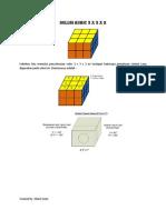 Solusi Rubic 3 x 3 x 2