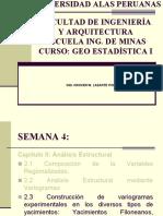 Geoestadistica i Uap Ing. Minas Semana 3b