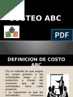 ABC Contabilidad de Costos
