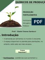 Aula 11 - PQP - Produção de Fertilizantes