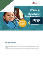 Rotafolio - alimentacion