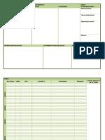 Planillas Unidades Didácticas para Programación de Aula