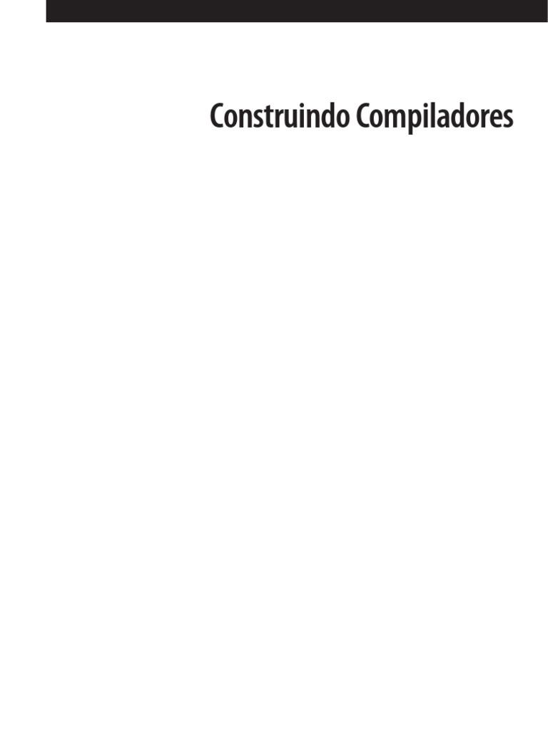 Construindo compiladores 2 edio cooper keith fandeluxe Gallery