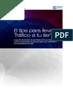 CACE 6 Tip Para Llevar Tráfico a Tu Tienda Web