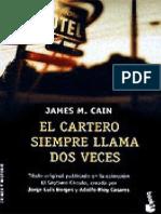 El Cartero Siempre Llama Dos Veces - James M. Cain
