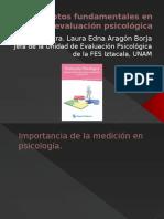 Conceptos Fundamentales en Evaluación Psicológica