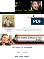 Presentation Call Centre Customer Service Helpdesk Training