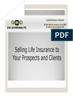 Selling Life Insurance to Your Prospect