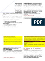 El Producto de La Logística y de La Cadena de Suministros.