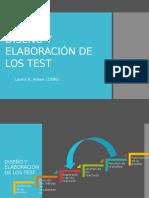 DISEÑO Y ELABORACIÓN DE LOS TEST