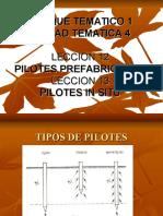 Pilotes en Construcciones