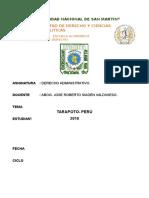 Monografia Del Silencio Administrativo.