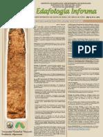 Boletín Edafología Informa A10N1 - 2016