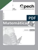 Ensayo Matematicas Uss - Cpech