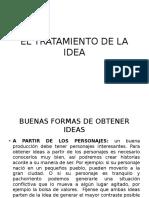 El Tratamiento de La Idea[1]