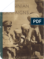 The Abyssinian Campaign