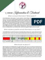 cervical inflammation client handout final