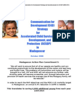 UNICEF Madagascar Communication for Development (C4D) Strategy for Accelerated Child Survival, Development, and Protection (ACSDP) in Madagascar