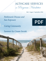 Hope Parkinson Program Summer Newsletter