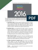 Tendencias y noticias audiovisuales - 2016