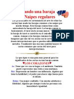 Usando Una Baraja de Naipes Regulares