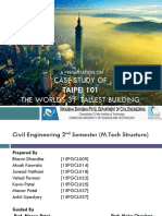 Presentation on Case Study of Taipei 101 by Akash