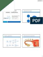 1 - Organización de Genes y Genomas