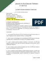 Reforma Reglamento de Procedimiento Tributario N° 39673-H