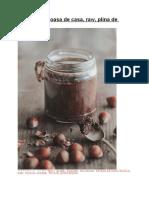 Nutella Delicioasa de Casa