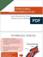 ALTERACIONES-TROMBOEMBOLITICAS