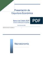 PRESENTA BCP Coyuntura Econ
