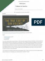 True Cost of Gun Violence