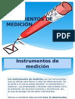 """Intrumentos de Mediciã""""n"""