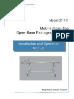 DC30-018_QT-711 Mobile Float-Top Open Base Table I&O Manual_Rev H
