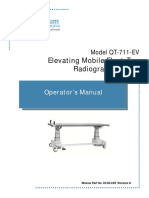 DC30-035_QT-711-EV Elevating Mobil Float-Top Table Operator Manual_Rev H