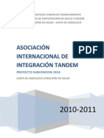 ASOCIACIÓN INTERNACIONAL DE INTEGRACIÓN TANDEM