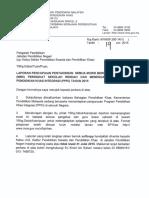 Surat Siaran-Maklumat Pencapaian Pentaksiran Akademik MBK PPKI