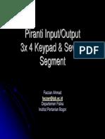 Keypad Segment