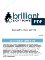 Brilliant Light Powers Tech Business Presentation 06-28-16