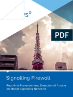 Cellusys Signalling Firewall v6.7