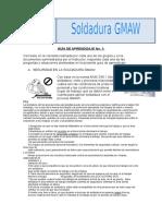 Soldadura GMAW. Guía de Aprendizaje No 1