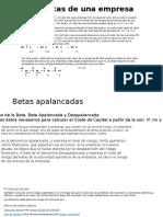 Las betas de una empresa.pptx