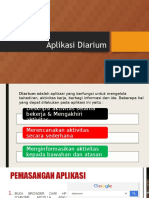 Aplikasi Diarium