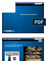 exair - e-vac vacuum generators presenation