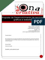 Proposta Desenvolvimento Grafico e Site Unigran